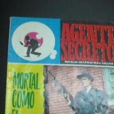 Tebeos: MORTAL COMO EL VENENO. AGENTE SECRETO Nº 36. EDITORIAL FERMA 1966. Lote 62024932