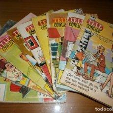 Tebeos: LOTE 9 TELE CÓMICO - Nº 1,2,3,4,6,7,9,10,12 - EDITORIAL FERMA, BARCELONA, 1963.. Lote 62056016