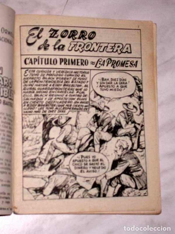 Tebeos: GRAN OESTE Nº 22. EL ZORRO DE LA FRONTERA. PETER KAPRA (PEDRO GUIRAO). EXCLUSIVAS FERMA, 1958. +++ - Foto 2 - 62499012