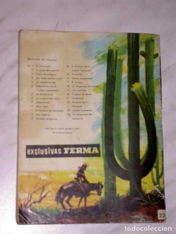 Tebeos: GRAN OESTE Nº 22. EL ZORRO DE LA FRONTERA. PETER KAPRA (PEDRO GUIRAO). EXCLUSIVAS FERMA, 1958. +++ - Foto 4 - 62499012