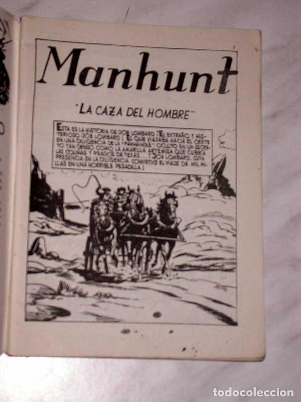 Tebeos: GRAN OESTE Nº 33. MANHUNT, LA CAZA DEL HOMBRE. AL SERMAN. EXCLUSIVAS FERMA, 1958. +++ - Foto 2 - 62499192