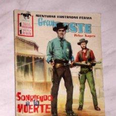 Tebeos: GRAN OESTE Nº 34. SONRIENDO A LA MUERTE. PETER KAPRA (PEDRO GUIRAO). EXCLUSIVAS FERMA, 1958. +++. Lote 62499376