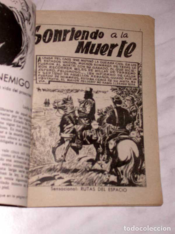 Tebeos: GRAN OESTE Nº 34. SONRIENDO A LA MUERTE. PETER KAPRA (PEDRO GUIRAO). EXCLUSIVAS FERMA, 1958. +++ - Foto 2 - 62499376