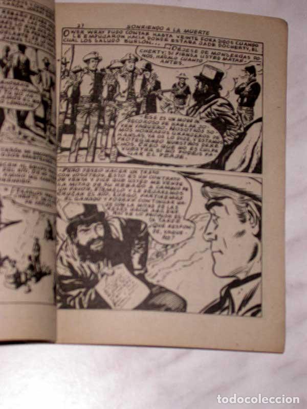 Tebeos: GRAN OESTE Nº 34. SONRIENDO A LA MUERTE. PETER KAPRA (PEDRO GUIRAO). EXCLUSIVAS FERMA, 1958. +++ - Foto 3 - 62499376