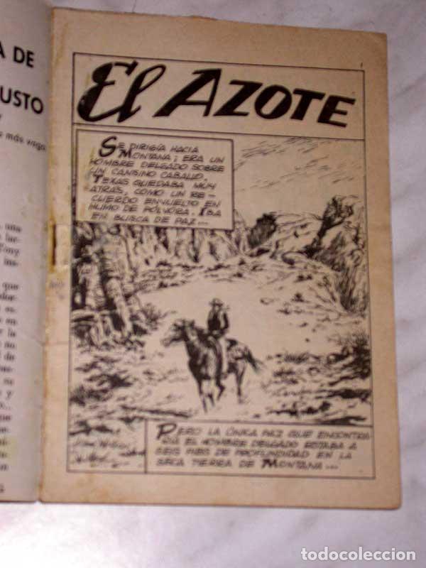 Tebeos: GRAN OESTE Nº 71. EL AZOTE. JIM KELLY. AVENTURAS ILUSTRADAS FERMA. EXCLUSIVAS FERMA, 1962. +++ - Foto 2 - 62499836