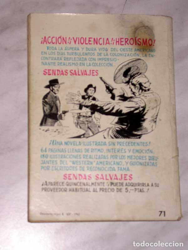 Tebeos: GRAN OESTE Nº 71. EL AZOTE. JIM KELLY. AVENTURAS ILUSTRADAS FERMA. EXCLUSIVAS FERMA, 1962. +++ - Foto 4 - 62499836