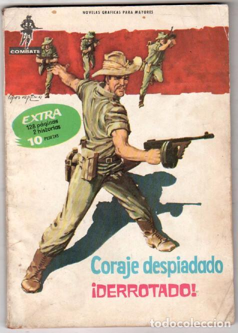 COMBATE EXTRA S/N 2 HISTORIAS 128 PÁGNAS 18 X 13 CMS, ES UN CÓMIC, DIFÍCIL Y RARO (Tebeos y Comics - Ferma - Combate)