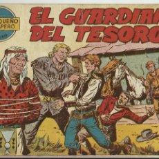 Tebeos: COMIC TEBEO EL PEQUEÑO TRAMPERO 2ª SERIE Nº 19 EL GUARDIAN DEL TESORO AÑO 1958. Lote 63261912