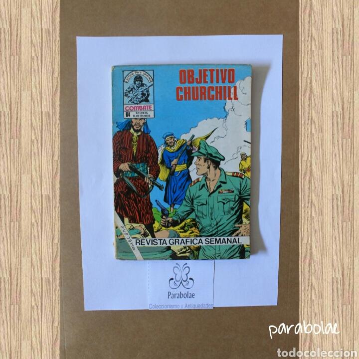 OBJETIVO CHURCHILL, 1.981 (Tebeos y Comics - Ferma - Combate)