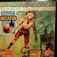 Tebeos: MEGATON - BASE ELECTRÓNICA - AÑO 1966. Lote 64699107