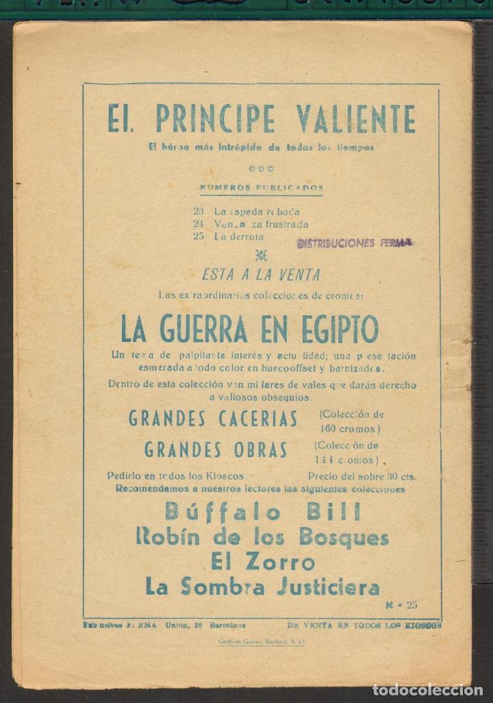 Tebeos: TEBEOS-COMICS CANDY - EL PRINCIPE VALIENTE - Nº 25 - FERMA - ORIGINAL - - *UU99 - Foto 2 - 64754007