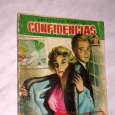 Tebeos: VIVIR PARA AMAR. COLECCIÓN DAMITA, SERIE CONFIDENCIAS Nº 40. EXCLUSIVAS FERMA, 1958. ++. Lote 64845419
