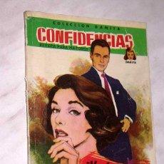 Tebeos: VUELVE AMOR MÍO. COLECCIÓN DAMITA, SERIE CONFIDENCIAS Nº 42. EXCLUSIVAS FERMA, 1958. ++. Lote 64845695
