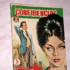 Tebeos: TE DESPRECIO. COLECCIÓN DAMITA, SERIE CONFIDENCIAS Nº 63. EXCLUSIVAS FERMA, 1958. ++. Lote 64847887