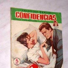 Tebeos: CUANDO LLEGA EL AMOR. COLECCIÓN DAMITA, SERIE CONFIDENCIAS Nº 68. EXCLUSIVAS FERMA, 1958. ++. Lote 64849559