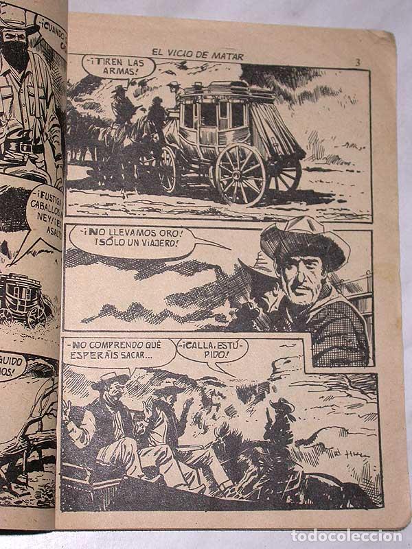 Tebeos: EL VICIO DE MATAR, UNA AVENTURA DE MATT DILLON. HARRY BISHOP. COLOSOS DEL OESTE Nº 114. FERMA, 1969. - Foto 2 - 64859055