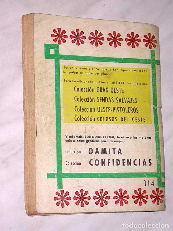 Tebeos: EL VICIO DE MATAR, UNA AVENTURA DE MATT DILLON. HARRY BISHOP. COLOSOS DEL OESTE Nº 114. FERMA, 1969. - Foto 4 - 64859055