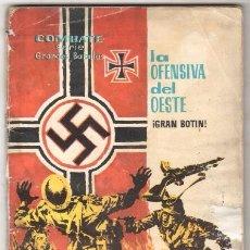 Tebeos: COMBATE SERIE GRANDES BATALLAS Nº 2 FERMA 1963 - LA OFENSIVA DEL OESTE, DIFICIL. Lote 65805110