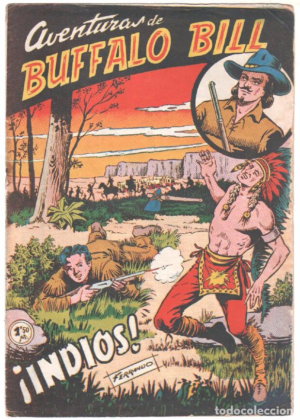 Tebeos: BUFFALO BILL ORIGINAL EDITORIAL FERMA 1956 - LOTE NºS - 2-9-10-15-16-22-37-39-45-47 - Foto 2 - 67356865