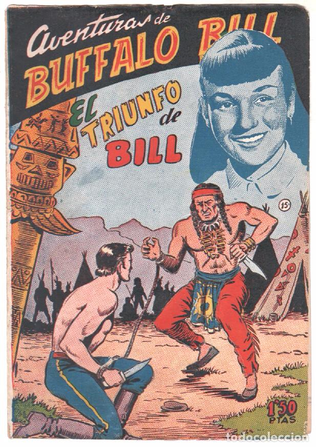 Tebeos: BUFFALO BILL ORIGINAL EDITORIAL FERMA 1956 - LOTE NºS - 2-9-10-15-16-22-37-39-45-47 - Foto 5 - 67356865