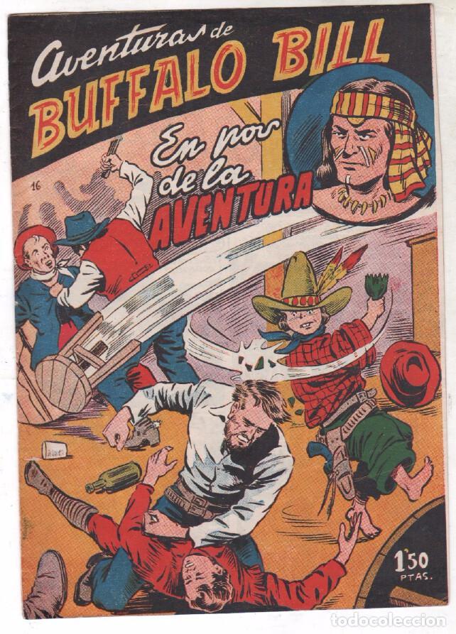 Tebeos: BUFFALO BILL ORIGINAL EDITORIAL FERMA 1956 - LOTE NºS - 2-9-10-15-16-22-37-39-45-47 - Foto 6 - 67356865