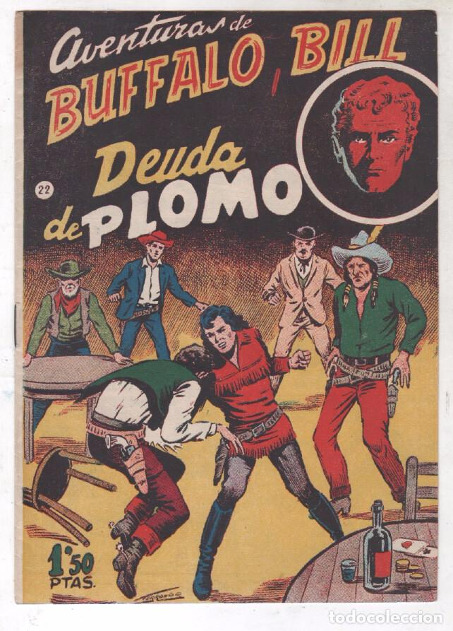 Tebeos: BUFFALO BILL ORIGINAL EDITORIAL FERMA 1956 - LOTE NºS - 2-9-10-15-16-22-37-39-45-47 - Foto 7 - 67356865
