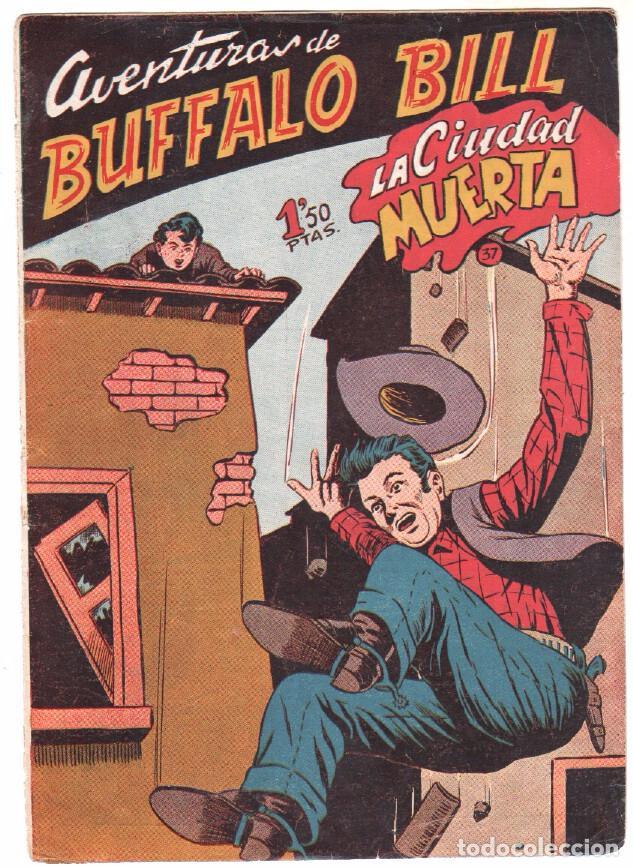Tebeos: BUFFALO BILL ORIGINAL EDITORIAL FERMA 1956 - LOTE NºS - 2-9-10-15-16-22-37-39-45-47 - Foto 8 - 67356865