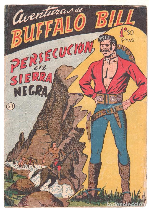 Tebeos: BUFFALO BILL ORIGINAL EDITORIAL FERMA 1956 - LOTE NºS - 2-9-10-15-16-22-37-39-45-47 - Foto 9 - 67356865