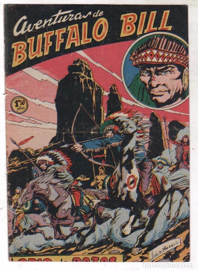Tebeos: BUFFALO BILL ORIGINAL EDITORIAL FERMA 1956 - LOTE NºS - 2-9-10-15-16-22-37-39-45-47 - Foto 10 - 67356865