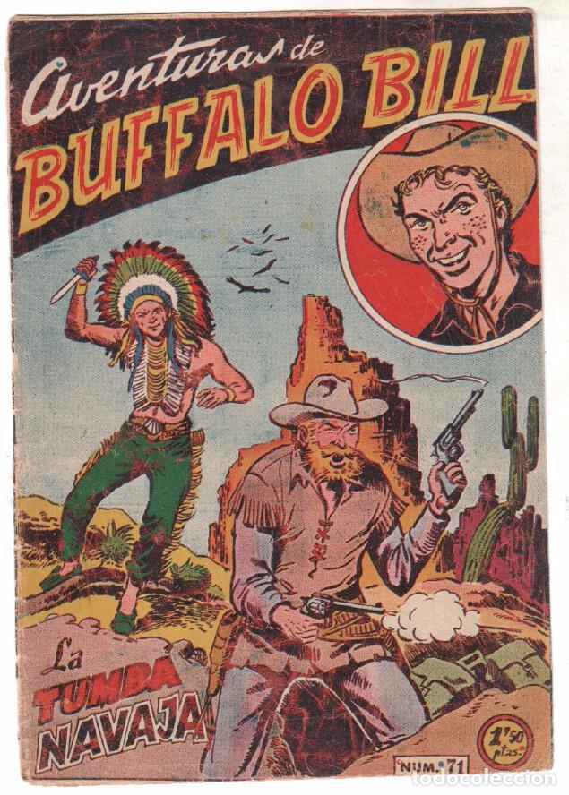 Tebeos: BUFFALO BILL ORIGINAL EDITORIAL FERMA 1956 - LOTE NºS - 2-9-10-15-16-22-37-39-45-47 - Foto 12 - 67356865