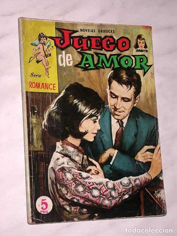 JUEGO DE AMOR. COLECCIÓN DAMITA, SERIE ROMANCE Nº 14. EXCLUSIVAS FERMA, 1958. SHIRIN DE PERSIA. ++++ (Tebeos y Comics - Ferma - Otros)
