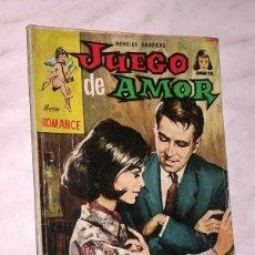 Tebeos: JUEGO DE AMOR. COLECCIÓN DAMITA, SERIE ROMANCE Nº 14. EXCLUSIVAS FERMA, 1958. SHIRIN DE PERSIA. ++++. Lote 67663269