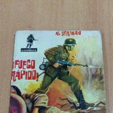 Tebeos: COMIC COMBATE. FUEGO RAPIDO, AL SERMAN. EDIT FERMA 1962. Lote 68308029