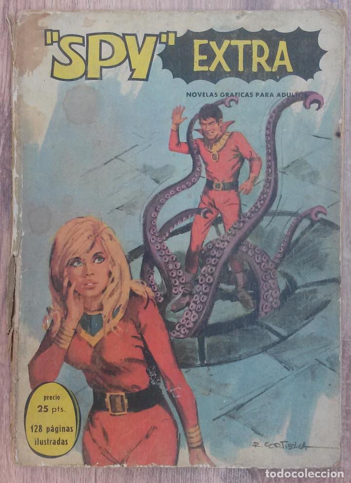 SPY EXTRA. EDITORIAL FERMA 1969. 128 PAGINAS ILUSTRADAS (Tebeos y Comics - Ferma - Otros)