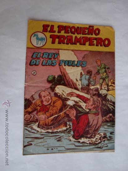 PEQUEÑO TRAMPERO Nº 24 ORIGINAL EDT. FERMA (Tebeos y Comics - Ferma - Otros)