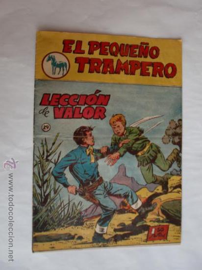 PEQUEÑO TRAMPERO Nº 29 ORIGINAL EDT. FERMA (Tebeos y Comics - Ferma - Otros)