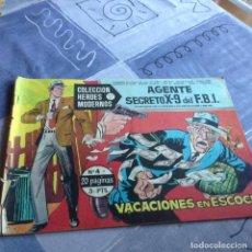 Tebeos: ARCHIVO (497): AGENTE SECRETO X-9 Nº 3: EL AVIÓN FANTASMA ,HISPANO AMERICANA, 1941. Lote 69597357