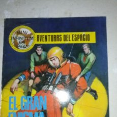 Tebeos: MINI INFINITUM-AVENTURAS DEL ESPACIO- Nº 7 -EL GRAN ENIGMA-1980-ESCASO-SORPRENDENTE-FLAMANTE-9260. Lote 130863865