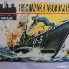 Tebeos: COLECCIÓN CINECOLOR COMBATE Nº 11 RECHAZAR EL ABORDAJE. FERMA. 1963. Lote 71552591