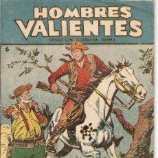 Tebeos: HOMBRES VALIENTES, JESSE JAMES, AÑO 1.958. Nº 6 Y 7. SON ORIGINALES, EDITORIAL FERMA.. Lote 71609399