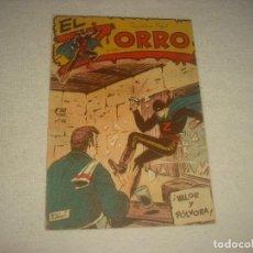 Tebeos: EL ZORRO . N° 18 . ED; FERMA. VALOR Y POLVORA . ORIGINAL. Lote 71778639