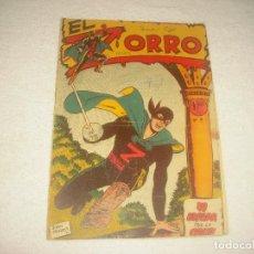Tebeos: EL ZORRO . N° 9 . ED; FERMA. SU ESPADA POR LA CRUZ . ORIGINAL. Lote 160032302