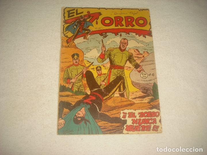 EL ZORRO . N° 6 . ED; FERMA. EL ZORRO NUNCA MUERE . ORIGINAL (Tebeos y Comics - Ferma - Otros)