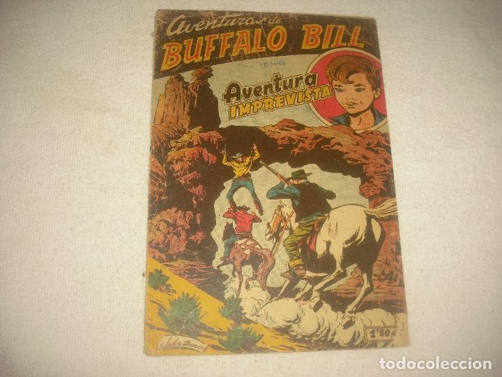 AVENTURAS DE BUFFALO BILL N° 44 , AVENTURA IMPREVISTA. ORIGINAL (Tebeos y Comics - Ferma - Otros)