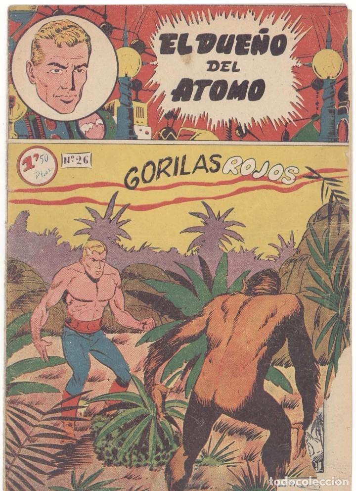 DUEÑO DEL ATOMO , Nº 26, ORIGINAL (Tebeos y Comics - Ferma - Otros)