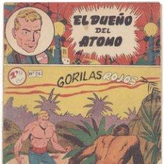 Tebeos: DUEÑO DEL ATOMO , Nº 26, ORIGINAL. Lote 72652439
