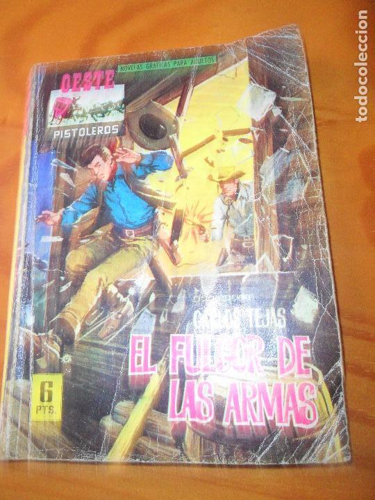 EL FULGOR DE LAS ARMAS - CARLOS TEJAS - COLECCION OESTE PISTOLEROS Nº 105 - ED. FERMA (Tebeos y Comics - Ferma - Gran Oeste)