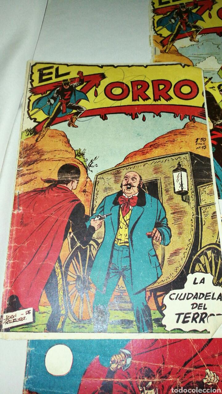 Tebeos: Lote de cinco tebeos comics el zorro de ferma . Original años 50 numero 4 , 6 , 7 , 15 y 17 leer - Foto 3 - 74931089