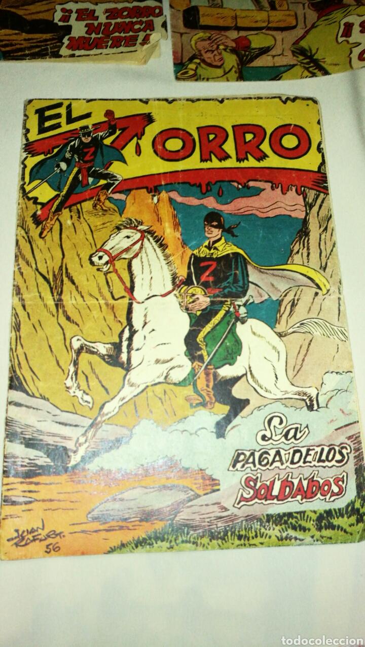 Tebeos: Lote de cinco tebeos comics el zorro de ferma . Original años 50 numero 4 , 6 , 7 , 15 y 17 leer - Foto 4 - 74931089