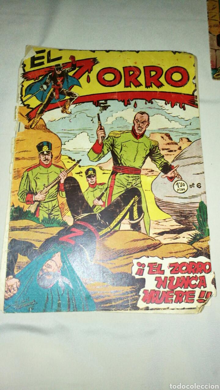 Tebeos: Lote de cinco tebeos comics el zorro de ferma . Original años 50 numero 4 , 6 , 7 , 15 y 17 leer - Foto 6 - 74931089